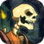 Awesome Skeleton Knight 3D icon