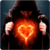 Fire Heart LWP icon