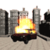 Apocalypse car run icon