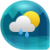 Weather and Clock Widget For Android icon