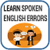 Spoken English Errors app for free