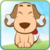 Dog puzzle icon