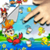Magical Rain Kids Edition LWP icon