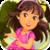 Dora The Explorer Girl icon