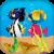 Flirty Fish  Free icon