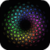 Colored Pentagons Live Wallpaper icon