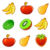 Fruit splash crush icon
