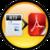 RTF to PDF icon