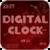 Digital Clock Widget - Likebit app for free