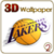 LA Lakers 3D Live Wallpaper FREE app for free