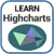 Learn Highcharts app for free