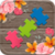 Puzzles for adults flowers icon