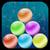 Snow Bubble Pop Free icon