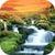 Waterfall HD Wallpaper live icon