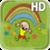 Funny Kids Rainbow LWP icon