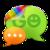 GO SMS Pro simple dark theme icon