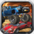 Monster car and Truck fighter icon