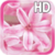 Pink Flowers LWP Free icon