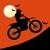 Free Moto Racer Halloween Town app for free