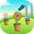 Water the Flowers Free icon