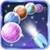 Outer space Bubble app for free