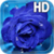 Blue Rose Drops Live Wallpaper app for free