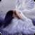 Sad White Angel Live Wallpaper icon