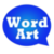 WordArt Chat Sticker M Free app for free