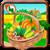 Village farm icon