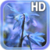 Blue Flower Live Wallpaper HD icon