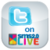 SMSLive with Twitter icon