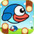 Flappy Blue Bird - The Clever Clumsy Wings is Back icon