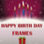 Birthday Frame app for free