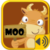 Moo: Animal Voices by Humans app for free