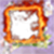 Fire photo frame pic icon