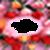 Photo frame flower icon