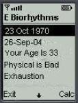 E_Biorhythms screenshot 1/1