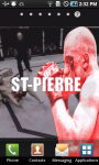 Georges St-Pierre Live Wallpaper screenshot 3/3