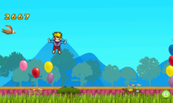 Trampoline Balloon Jump screenshot 5/5