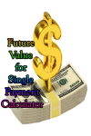 Future Value for Single Payment Calculator screenshot 1/3