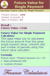 Future Value for Single Payment Calculator screenshot 3/3