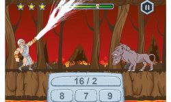 Math Games Zeus vs Monsters screenshot 1/5