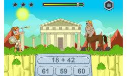Math Games Zeus vs Monsters screenshot 4/5