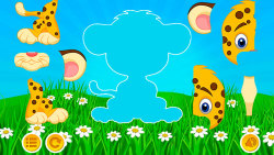Kids puzzles zoo screenshot 3/5
