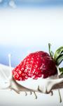 Strawberry Splash Live Wallpaper screenshot 1/3