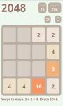 2048 Puzzle 2 screenshot 2/4