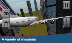 Flight Simulator 3D PRO screenshot 4/4