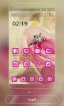 Rose Love Theme - CM Launcher screenshot 1/3