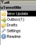 uTweetMe screenshot 1/1