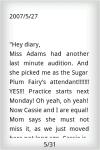 Youth EBook - Diary of A Dancer  screenshot 3/4